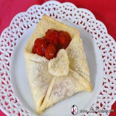 Cherry Pastry Pie Envelope