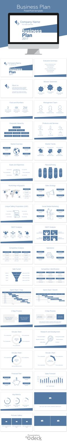 Pitch Deck Powerpoint Template  Pitch Decking And Graphics