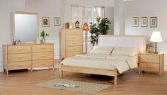 Bright Natural Wood Bedroom Furniture Sets Design Ideas | Zen ...