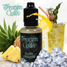 ejuice eliquid Frozen Pineapple 30ml Frozen coils