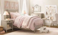 Kids Bedroom, Wonderful Classic Little Girls Room Inspirations: Traditional Exquisite Little Girls Room Ideas