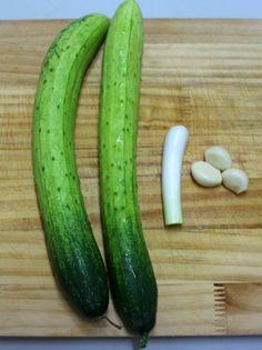 Korean Food, Cucumber, Zucchini, Food And Drink, Vegetables, Wellness, Korean Cuisine, Vegetable Recipes, Veggies