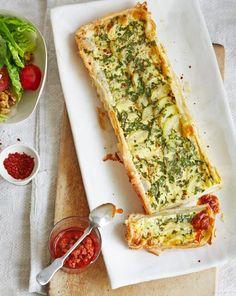 Kartoffel-Tarte mit Harissa-Dip Rezept - [ESSEN UND TRINKEN]