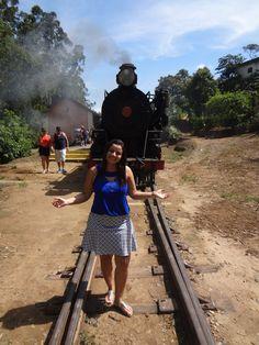 Passeio de Maria Fumaça em Passa Quatro - Minas Gerais