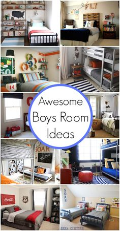 Love some of these ideas for when the boys are ready for their big boy room.