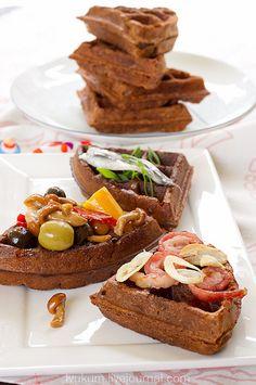 Rye Waffles Ржаные вафли