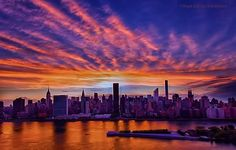 "Inga Sarda-Sorensen on Twitter 21050808: ""Sky afire tonight in #NYC."" #sunset https://twitter.com/isardasorensen/status/630187414749884416"