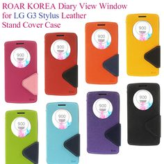 ROAR KOREA Case Diary View Window for LG G3 Stylus D690N D690 PU Leather Stand Cover Case With Package   Price: US $6.10   http://www.bestali.com/goto/32248744283/10