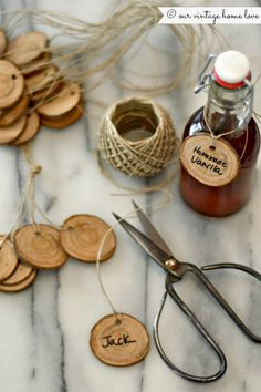 our vintage home love: Anthropologie Inspired Gift Tags