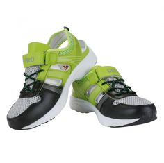 Black Green Men Sports Shoes - Cefirosports shoes provided both arch support and speed lacing, and our high-quality products attracted prominent athletes. The one of the best thing in that shoes it's sole made TPR and upper made PU for extra comfort and stability. The midsole made mixes cotton and fabric, that provide dry and soft feet