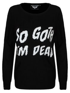 Womens Sweaters - Buy Online at Grindstore.com: UK No 1 for Rock Fashion and Merchandise