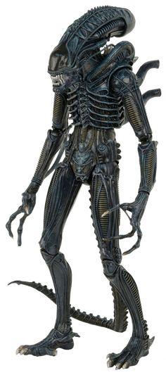 Aliens Xenomorph Warrior 1/4 Scale Action Figure - Click Image to Close