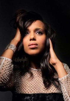 American actress Kerry Washington