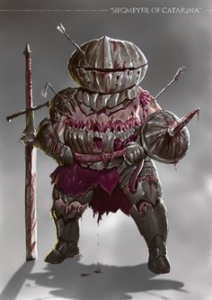 Grimdark Souls - Siegmeyer of Catarina by SaneKyle on DeviantArt