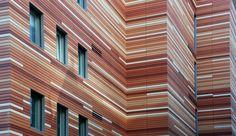 Facade - NBK Terracotta TERRART Large / Hunter Douglas Contract   ArchDaily Materials