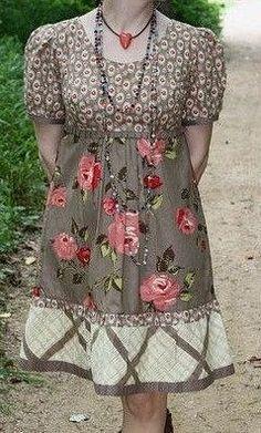 Выкройка платья с завышенной талией (Шитье и крой) | Журнал Вдохновение Рукодельницы