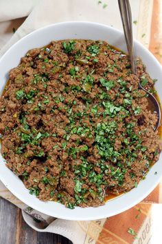 Instant Pot Taco Meat - ground beef (try with chicken or turkey), oil (would… Instant Pot Pressure Cooker, Pressure Cooker Recipes, Pressure Cooking, Paleo Recipes, Mexican Food Recipes, Cooking Recipes, Dinner Recipes, Paleo Meals, Mexican Dishes