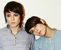 They rocked the Justin Bieber look before he was even on the scene.  | Tegan And Sara's Hairstyle Evolution