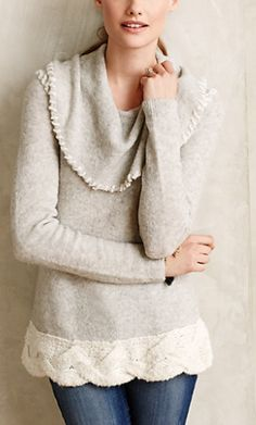 Cozy sweater #AnthroFave http://rstyle.me/n/rvk9sn2bn