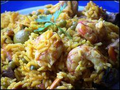.5 recetas con arroz, historia:¡Buenos días, tardes o noches amig@s! Ya estoy aquí de nuevo con un colaborativo que os dejará estupefactos. Tenemos cinco