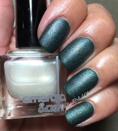 My Nail Polish Obsession: Emerald & Ash Your Face