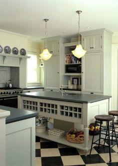 Interesting Island Options, Adore Your Place - Interior Design Blog- for ALL our wine!!