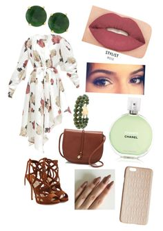 """""""Untitled #431"""" by sofia-boubou on Polyvore featuring Paul Andrew, A.W.A.K.E., Vince Camuto, Panacea, Smashbox, Chanel and Dagmar"""