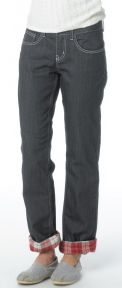 PRANA Lined Boyfriend Jean with Flannel lining! Cute and that's mine:)