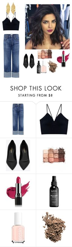 """Untitled #417"" by nuymar ❤ liked on Polyvore featuring Citizens of Humanity, Yves Saint Laurent, tarte, Avon, Dolce&Gabbana, Magdalena Frackowiak, 60secondstyle and PVShareYourStyle"