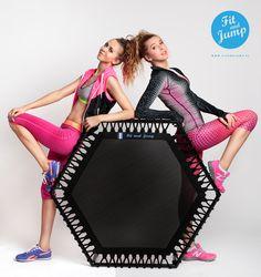 Razem możemy więcej! #fitandjump #trampoline #siostry_adihd #fitnessnatrampolinach