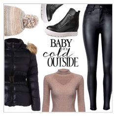 """""""->topSet 11/18/16<-baby it's cold outside"""" by mycherryblossom ❤ liked on Polyvore featuring Steve Madden"""