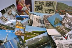 Lot of 25 Vintage Postcards from Italy Pompei Portofino Milano Upcycle Craft Ephemera Photographs Collectibles Scrapbook Souvenirs by WallflowerAntiques on Etsy