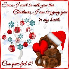 hugging you in my heart this xmas christmas wishes
