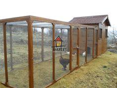 60 tavukluk bahçeli tavuk kümesleri