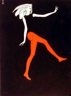 .: René Gruau Fashion Illustrations