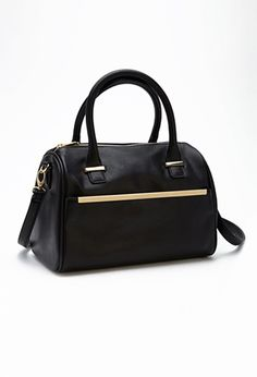 Faux Leather Satchel | FOREVER21 - 1049258220