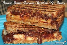Peanut-Butter-Banana-Chocolate-Chip-Panini--It's all in the ingredients you choose, so check it out!