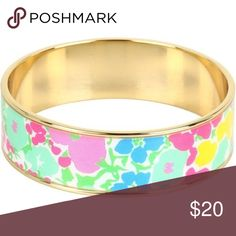 Lilly Pulitzer Bracelet Lucky Charms Print Never been worn... classic bangle. Message for questions / pictures! Lilly Pulitzer Jewelry Bracelets