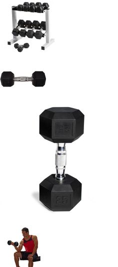 3565939a457 Dumbbells 137865  Cap 150 Lb Rubber Hex Dumbbell Weight Set Rack Fitness  Workout Lifting Exercise