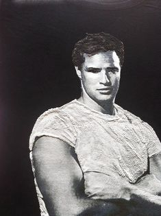 Marlon Brando T-shirt Painted 3d
