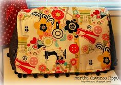 Embroidery machine cover