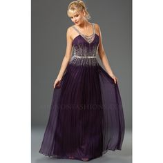 Mignon VM570 Prom Long Dress Long Halter Sleeveless ($598) ❤ liked on Polyvore featuring dresses, deep purple, formal dresses, long dresses, long purple dress, prom dresses, purple prom dresses and glitter prom dresses