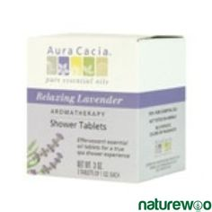 No time for aromatherapy bubble bath? Not a problem, enjoy the luxurious aromatherapy in the shower when you use our Aura Cacia Shower Tablets Spa Shower, Patchouli Oil, Lavender Oil, Lavender Fields, Great Inventions, Sodium Bicarbonate, Love To Shop, Beauty Hacks, Tablet Computer
