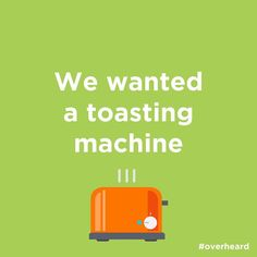 It's called a Toaster!!  #office #overheard #officelife #design #graphicdesign #illustration #illustrator #adobe #creative #vectorart #quotesdaily #instagood #instadaily #typography #project #digitalart #inspiration #followers #doubletap #type #funny #quotesdaily #hashtag #follow #like #love #photooftheday #breakfast #morning #toast by officeoverheard