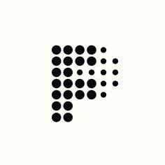 FP Monogram by Richard Baird. (Available). #logo #branding #design
