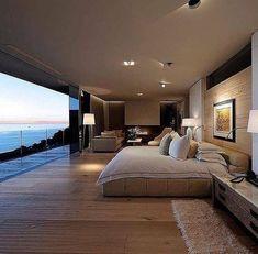 Dream bedroom design 😍 via  Design by Peerutin Architects  Luxury Homes Dream Houses, Dream House Interior, Dream Home Design, Modern House Design, Luxury Interior, Interior Design, Interior Decorating, Decorating Ideas, Dream Rooms