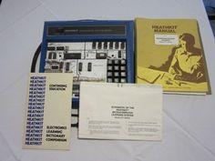 Heathkit ET-3400A MicroComputer Learning System & Training Course Materials #Heathkit