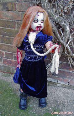 Bethina Gore Horror Doll  Medium Size by ADzDollz on Etsy, $149.99