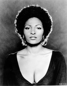 """Pam Grier sent shockwaves through the country in her role as the bold and beautiful Foxy Brown. With sentiments like, """"It's always fun to put on bell bottoms and have your butt hanging out,"""" Grier redefined sexy. Afro, Foxy Brown Pam Grier, Pam Grier 70s, Most Beautiful Black Women, Beautiful Ladies, Beautiful People, Amazing People, Hair Icon, Babe"""