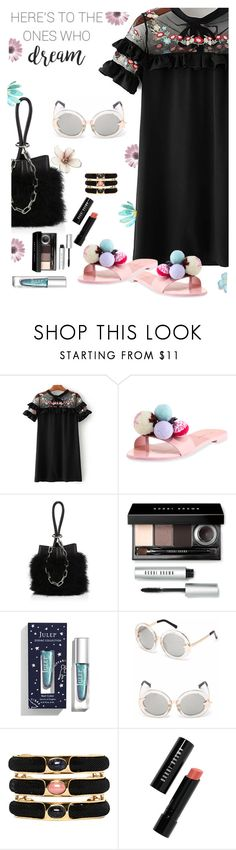 """""""Under $100:  Summer Dresses"""" by juliehooper ❤ liked on Polyvore featuring Sophia Webster, Alexander Wang, Bobbi Brown Cosmetics, Roberto Cavalli, summerdress, under100 and polyvoreeditorial"""